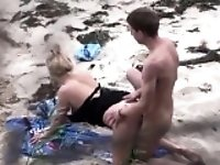 Couple fucking on the beach Wendolyn from 1fuckdatecom